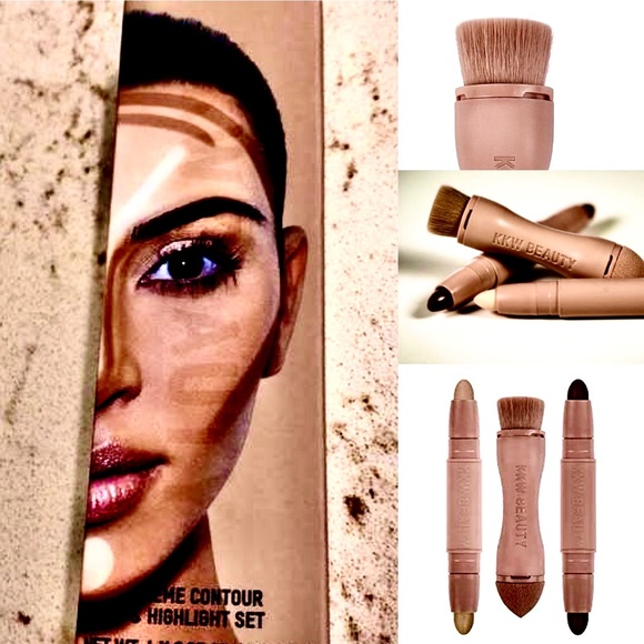 KKW Beauty Other - KKW contour kit with blending tool